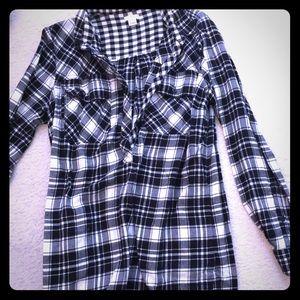 J. Crew Flannel Dress